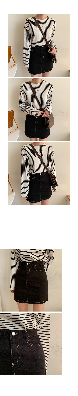 Rochecotton mini skirt