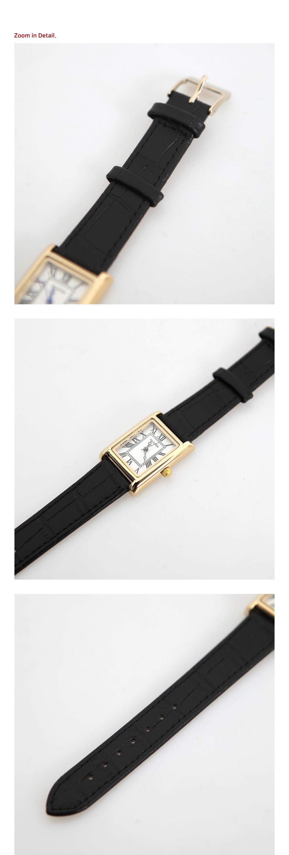 Classic square watch