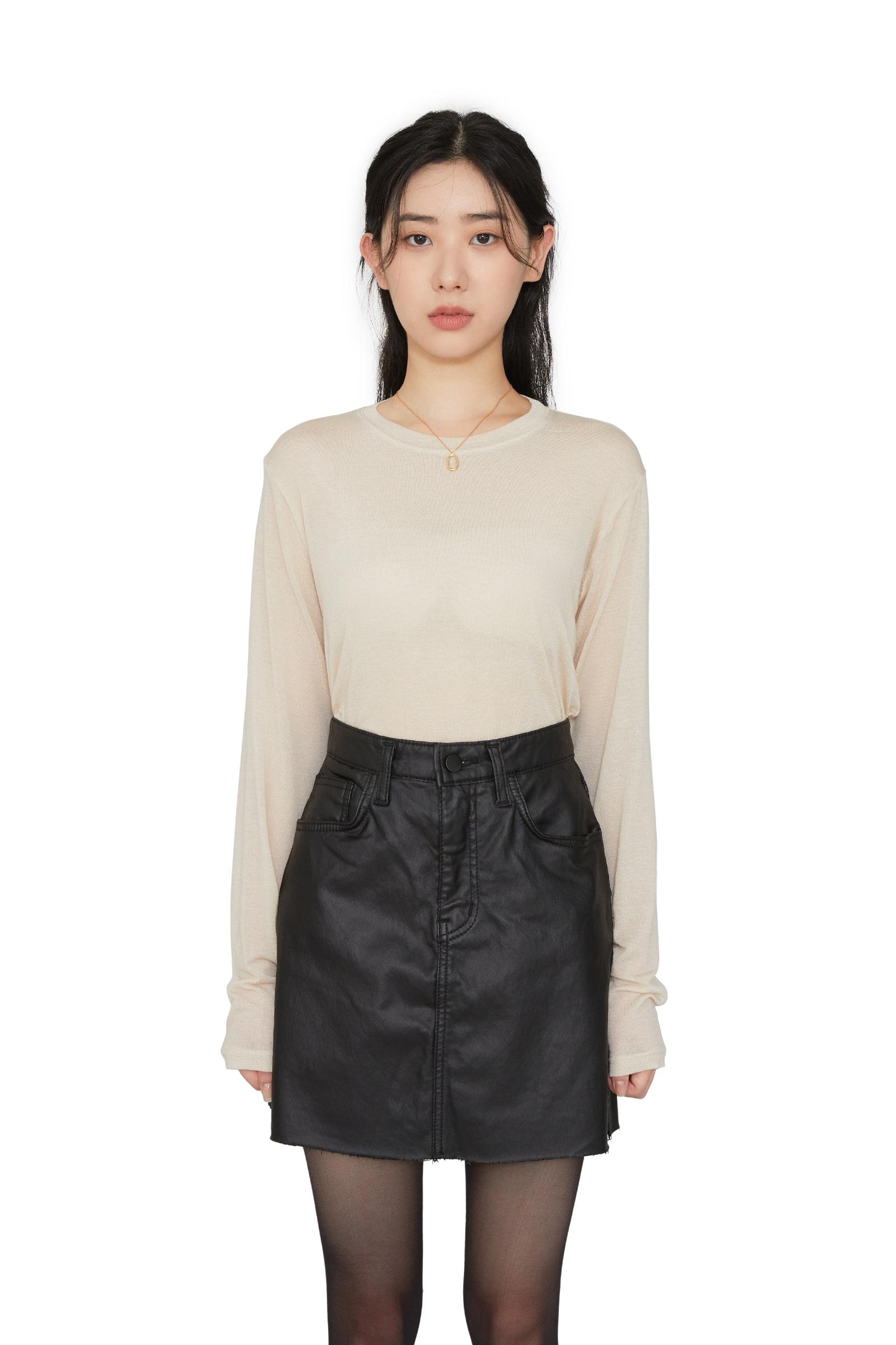 Sally Tencel long sleeve T-shirt