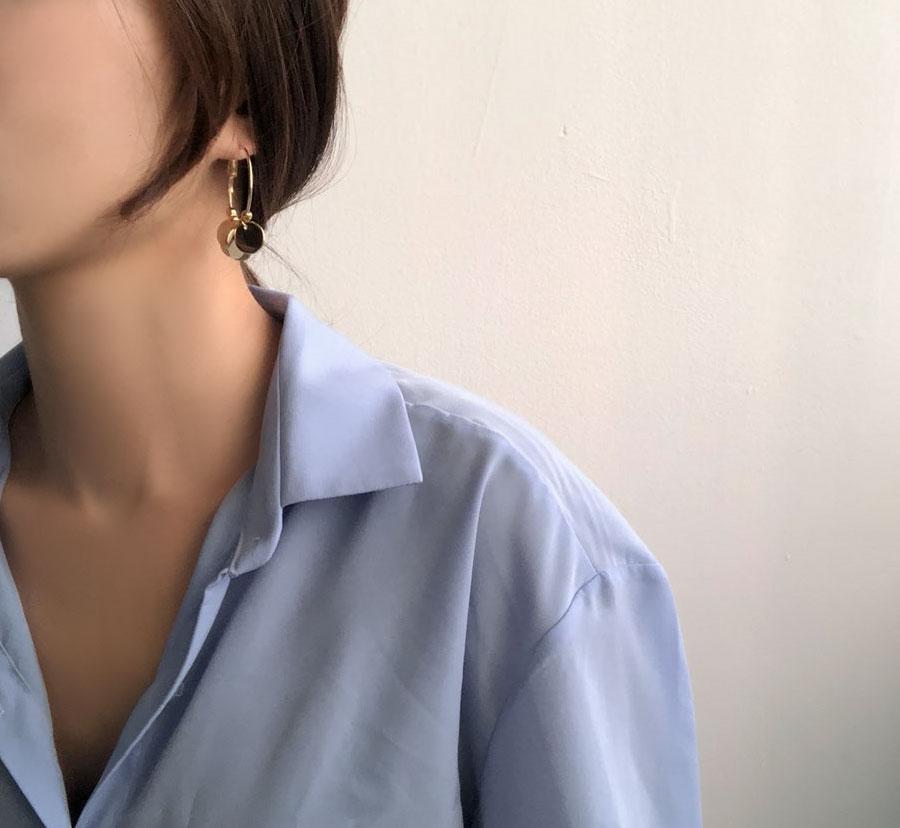 Mer Point Ring Earrings