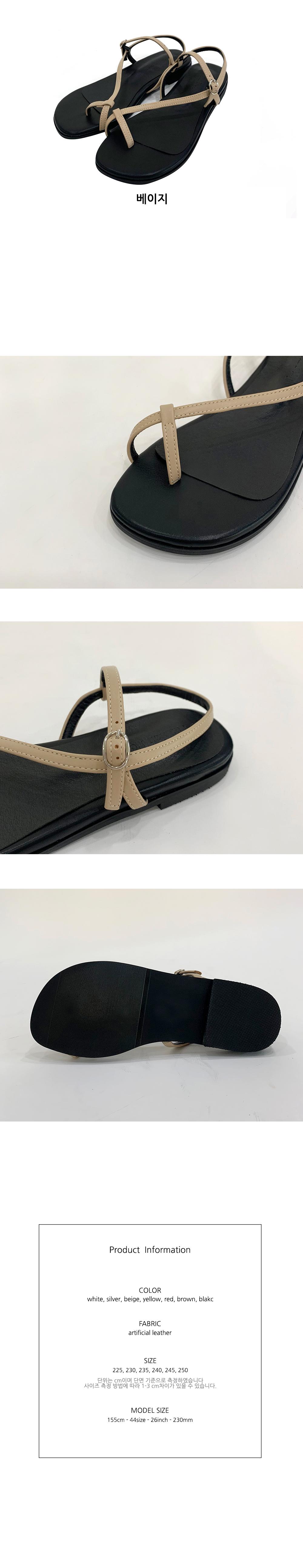 Thumb strap sandals S#YW301