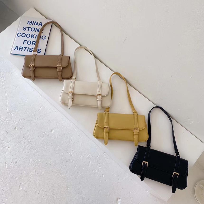 Urban Bros Paros Rectangular Buckle Shoulder Bag 4colors