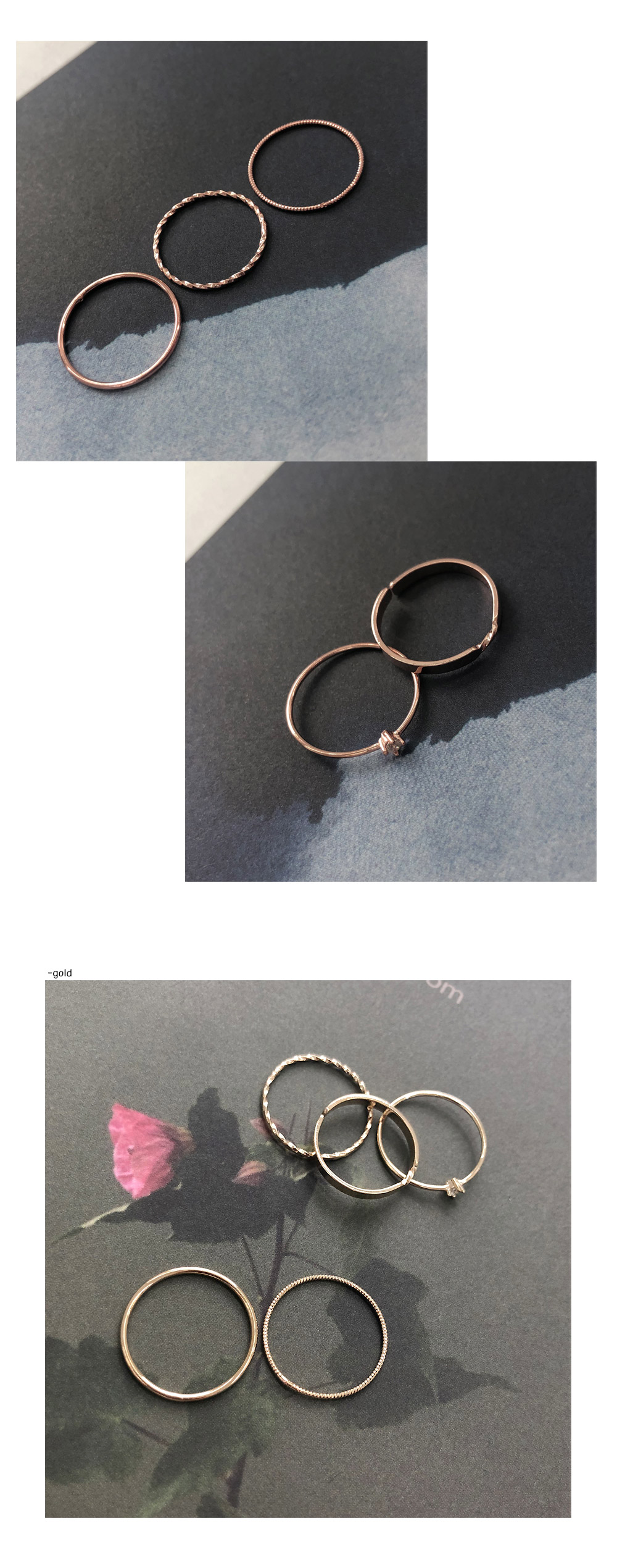 *Jewellery* Cubic ring set ring