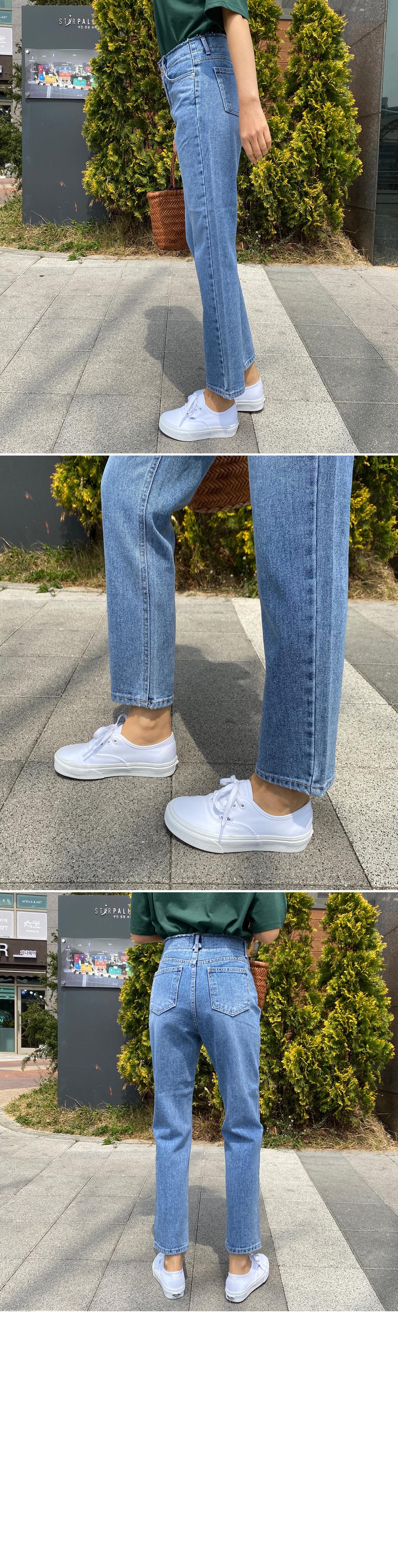 Obi cut loose fit jeans