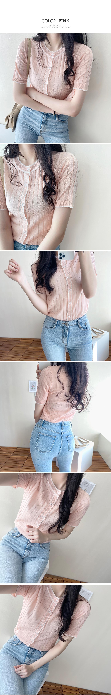 Pastel color cardigan T#YW607