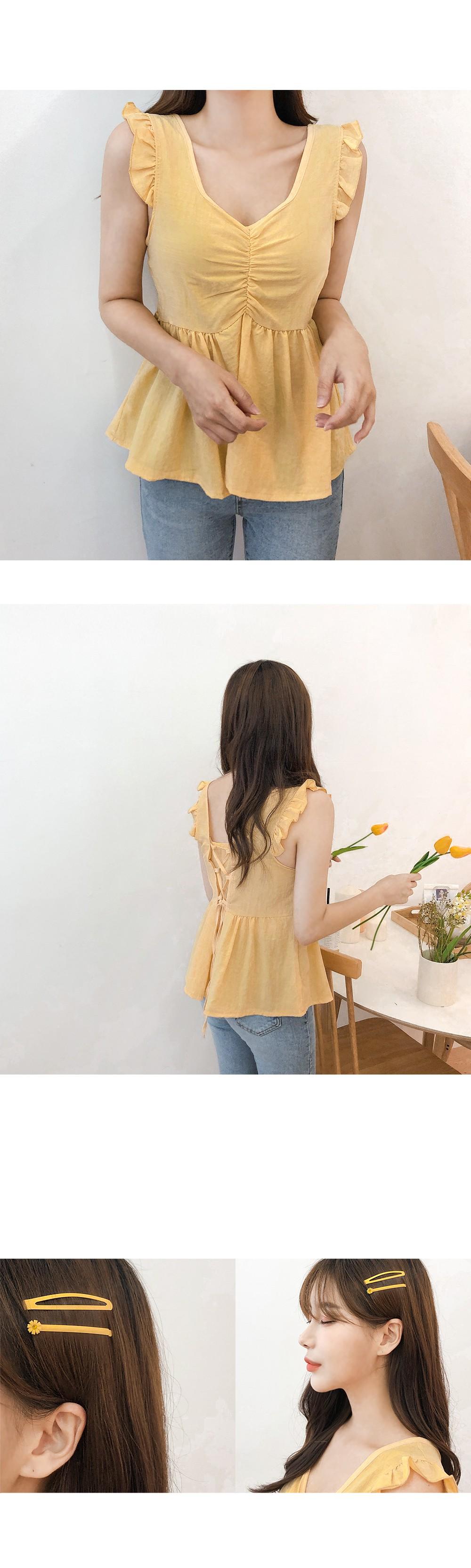 Mini Flower Hairpin SET