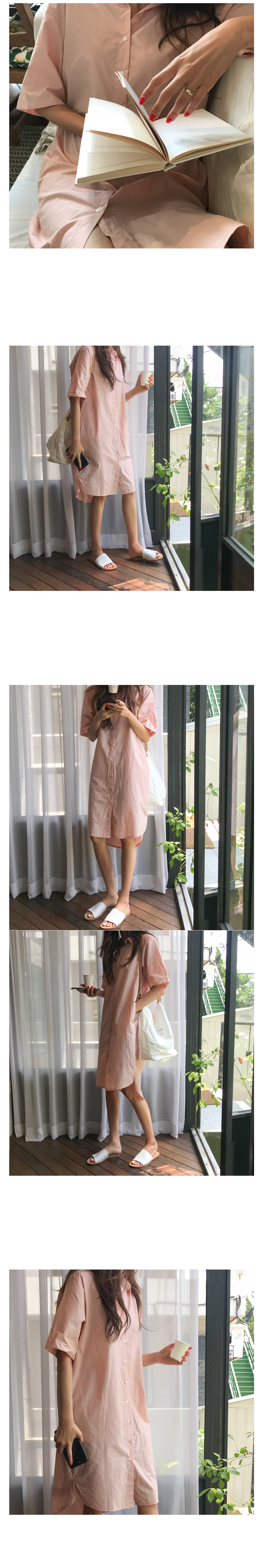 Pudding Shirt Dress