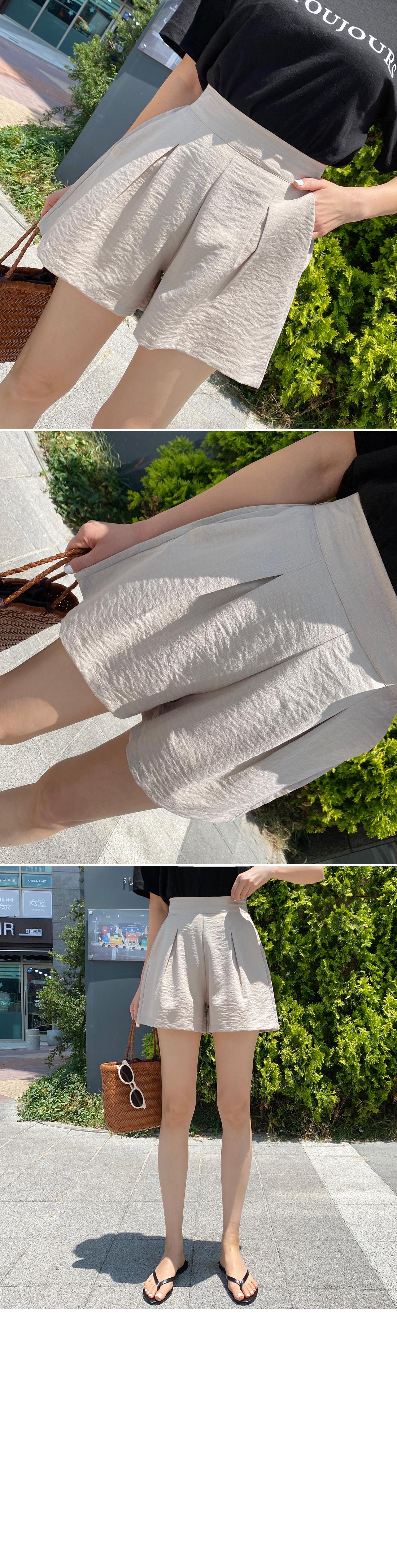 Field Pintuck Back Band Skirt