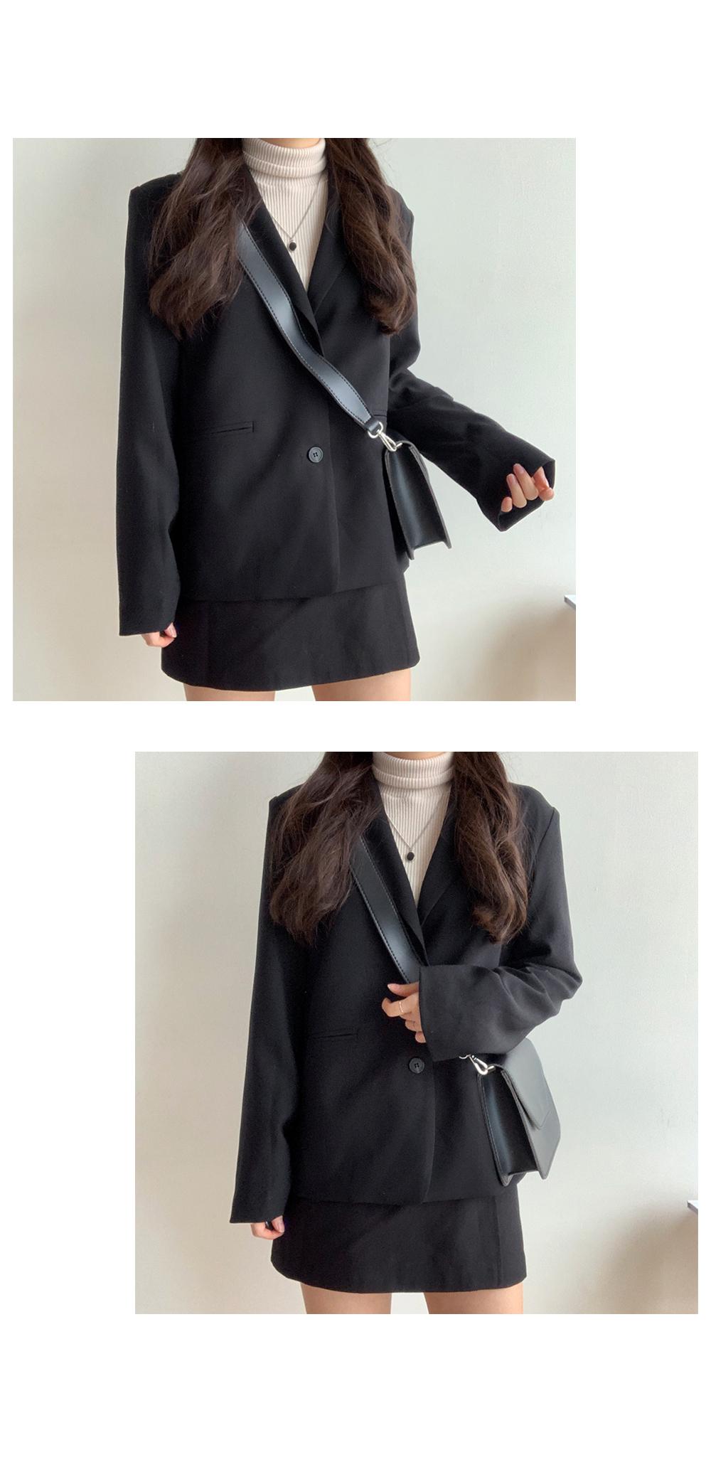 Lead loose fit jacket