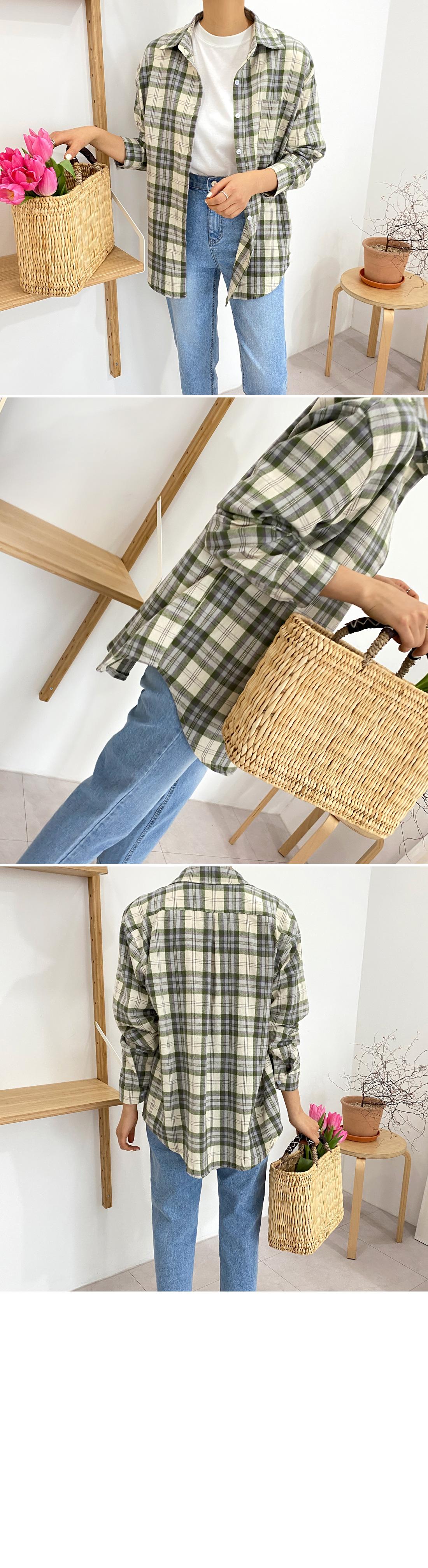 Roy check shirt