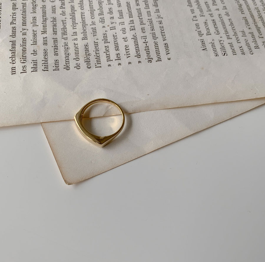 Silver925 Daily Square Ring