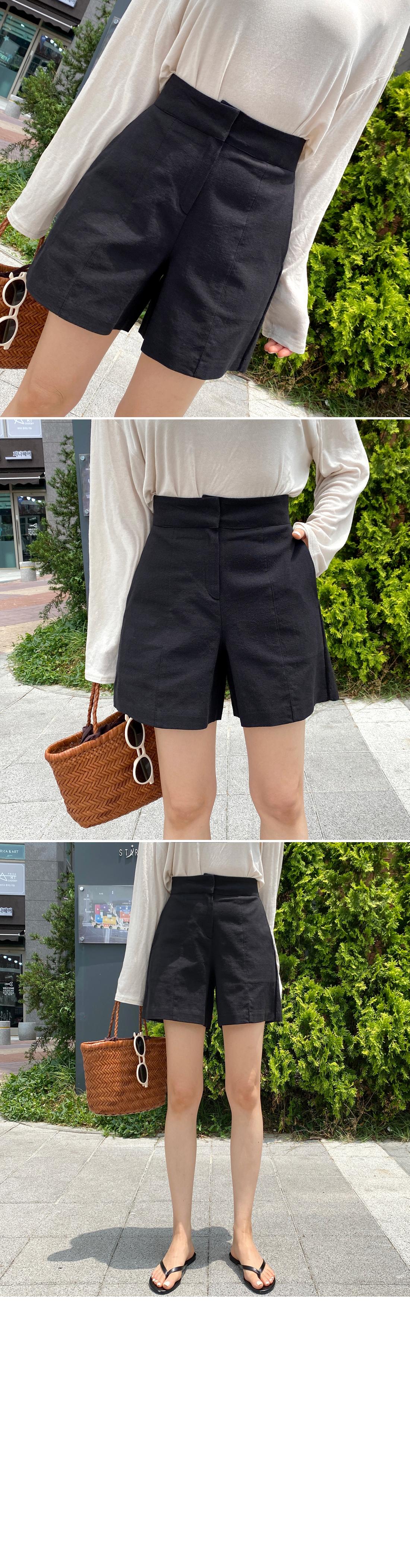 Incision cotton 3 part shorts