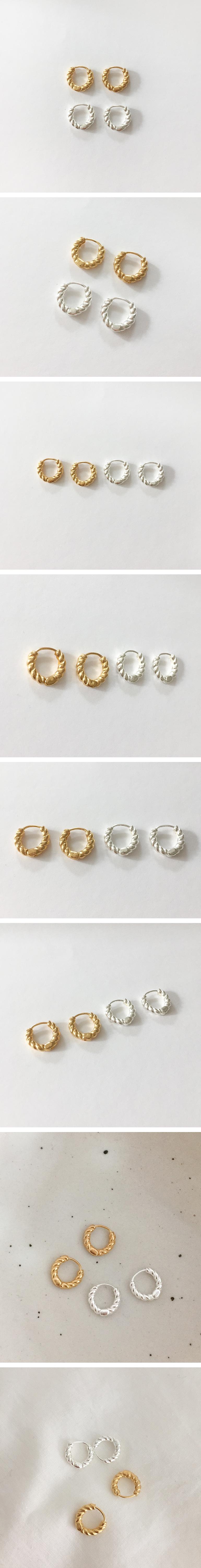 (silver925) queen earring