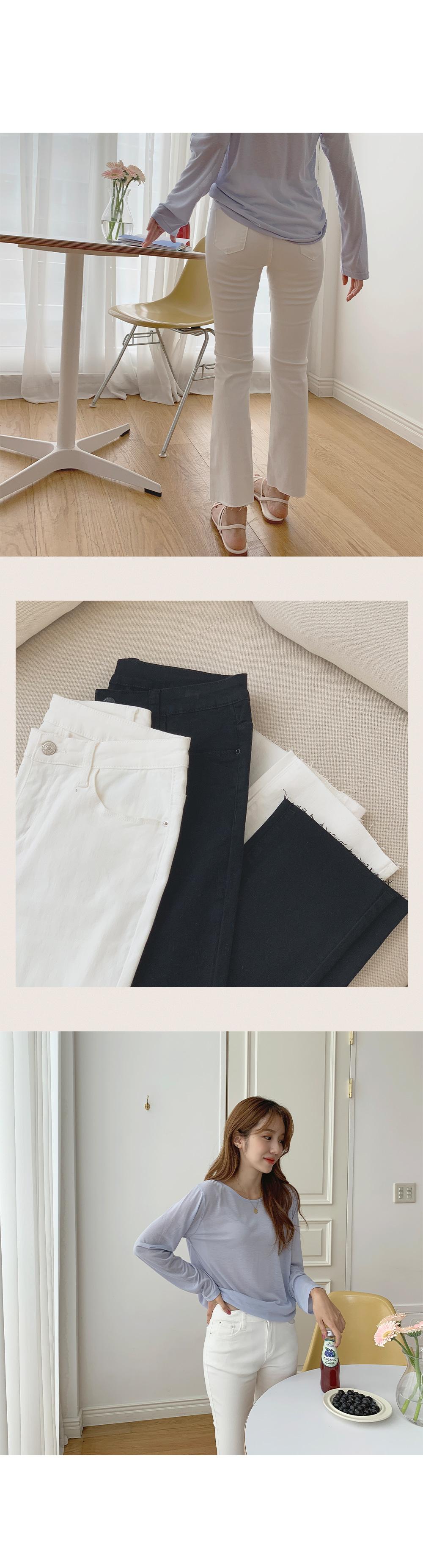 Dylan Daily Bootcut Cotton Pants