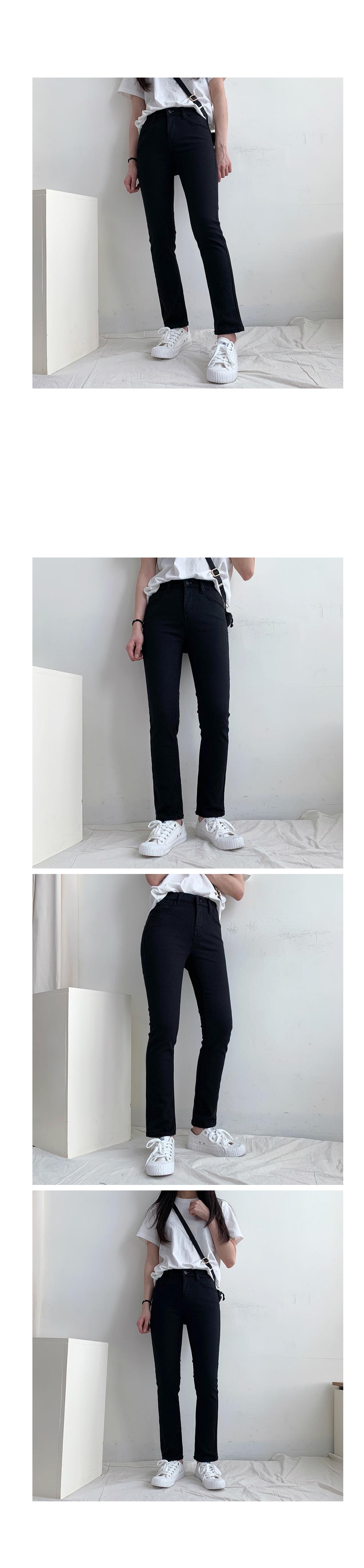 Runner cotton span pants(3color)