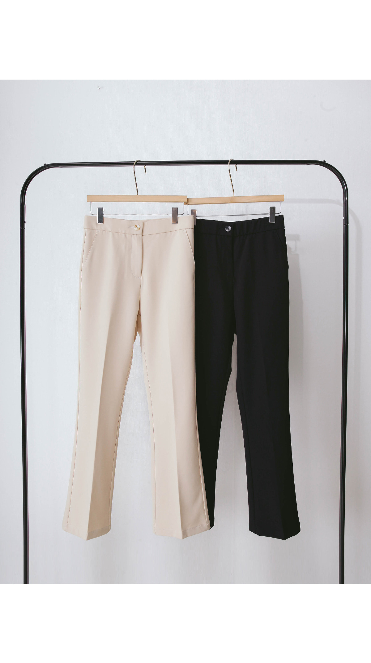 Straight cut Eden slacks pants
