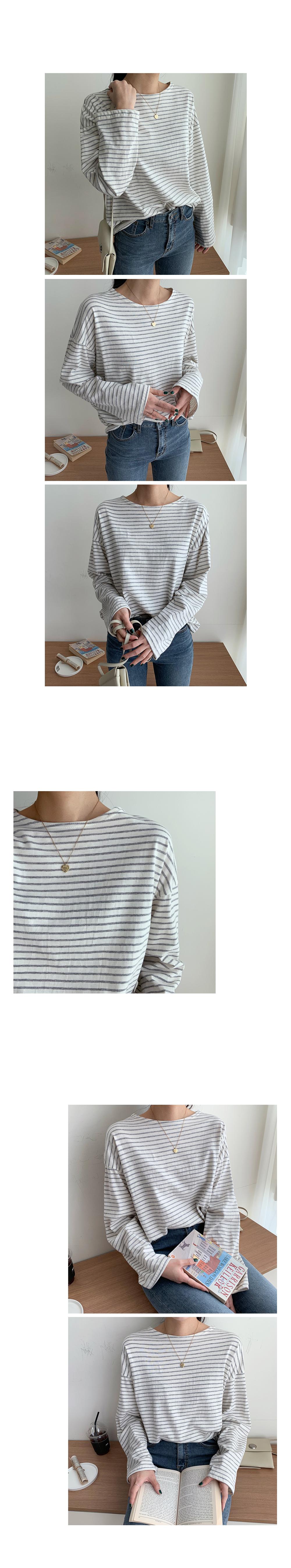 Field Striped Long Sleeve Tee