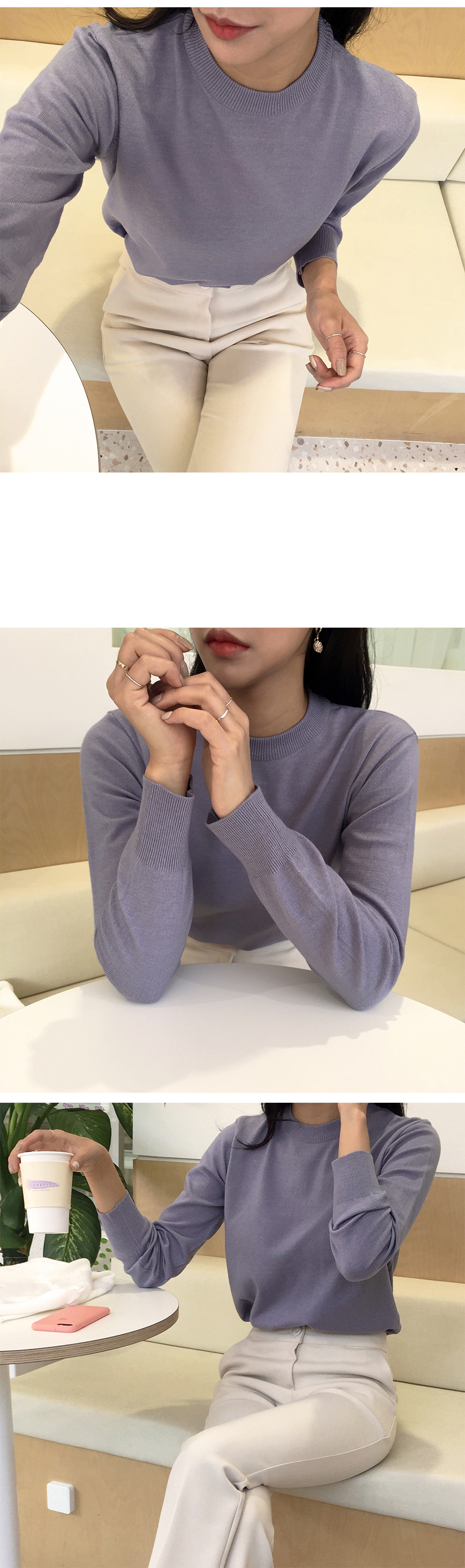 Village color knit