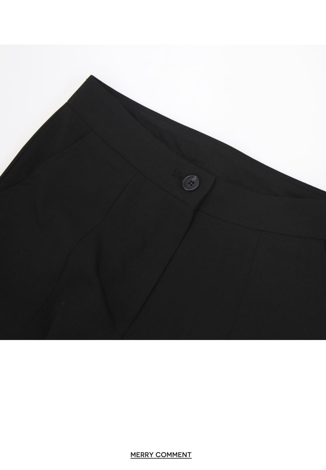 Disco high waist split front Flared slacks