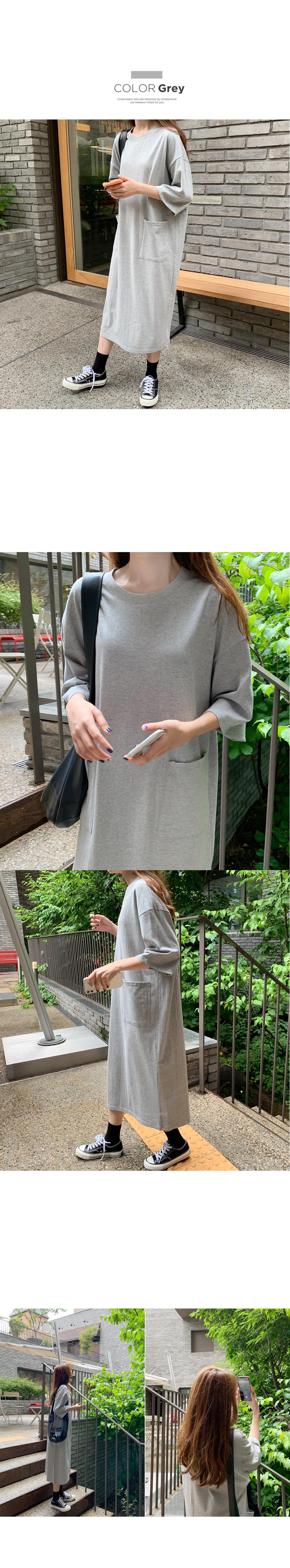 Lloyd Daily Pocket Cotton Dress