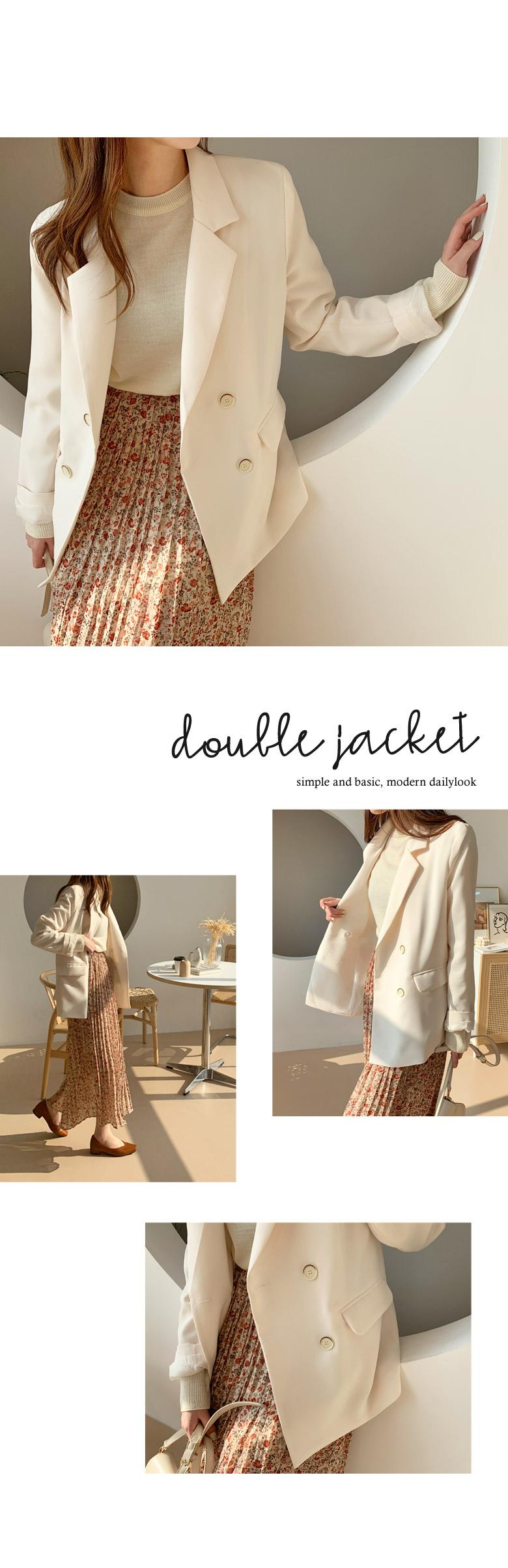 Bless Basic Double Jacket