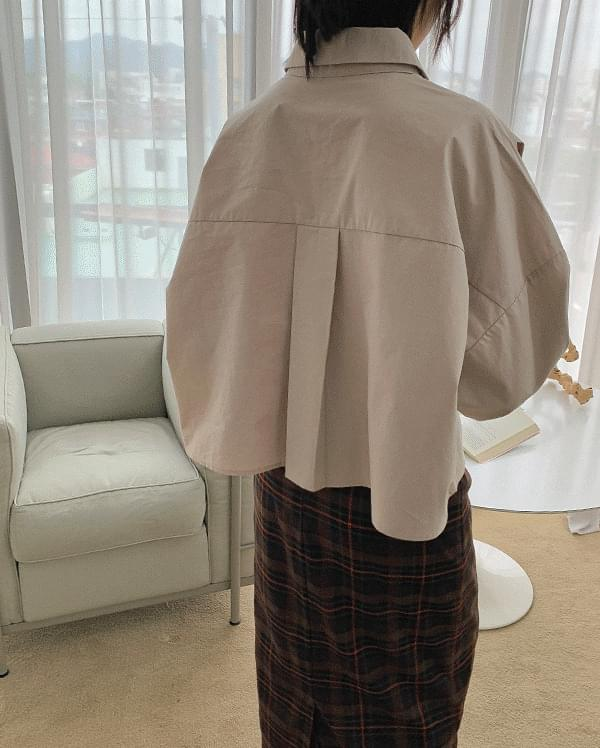 韓國空運 - #made some modern tuck basic shirt 襯衫