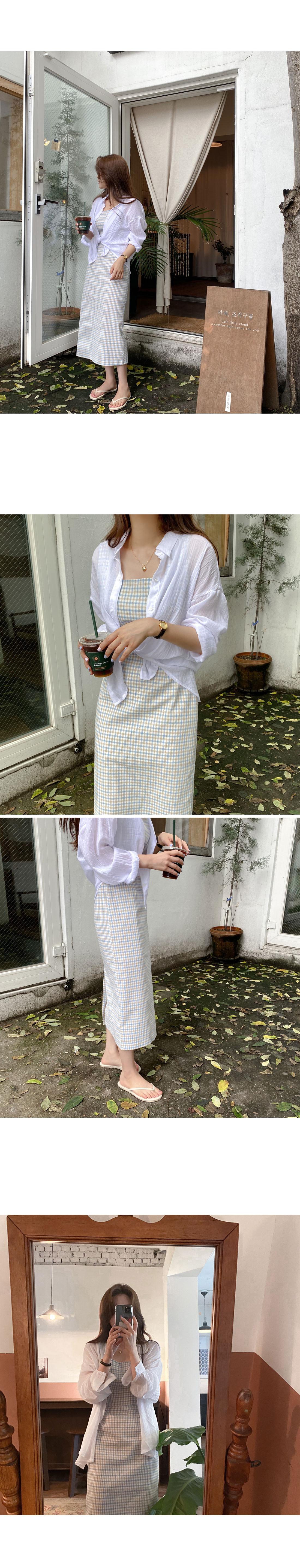 Forty Check Nashi Dress