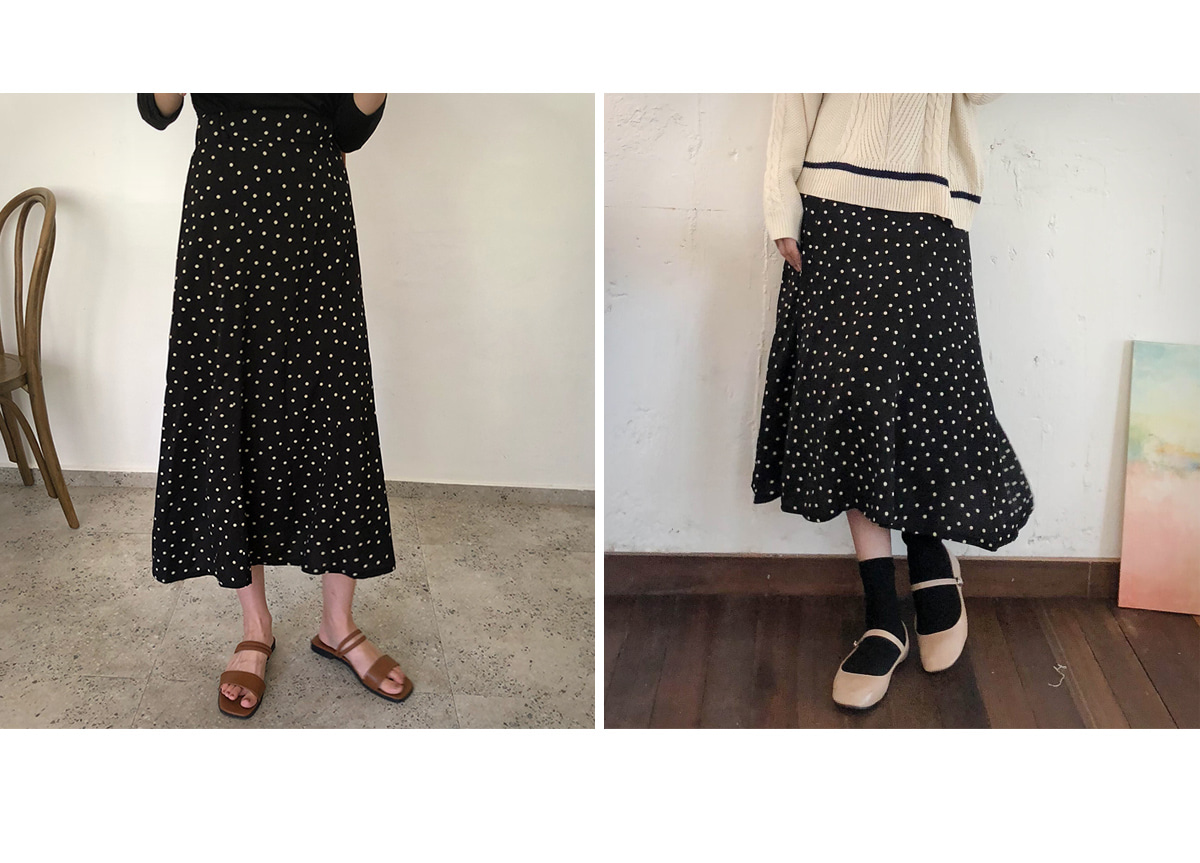 Popodot Long Skirt