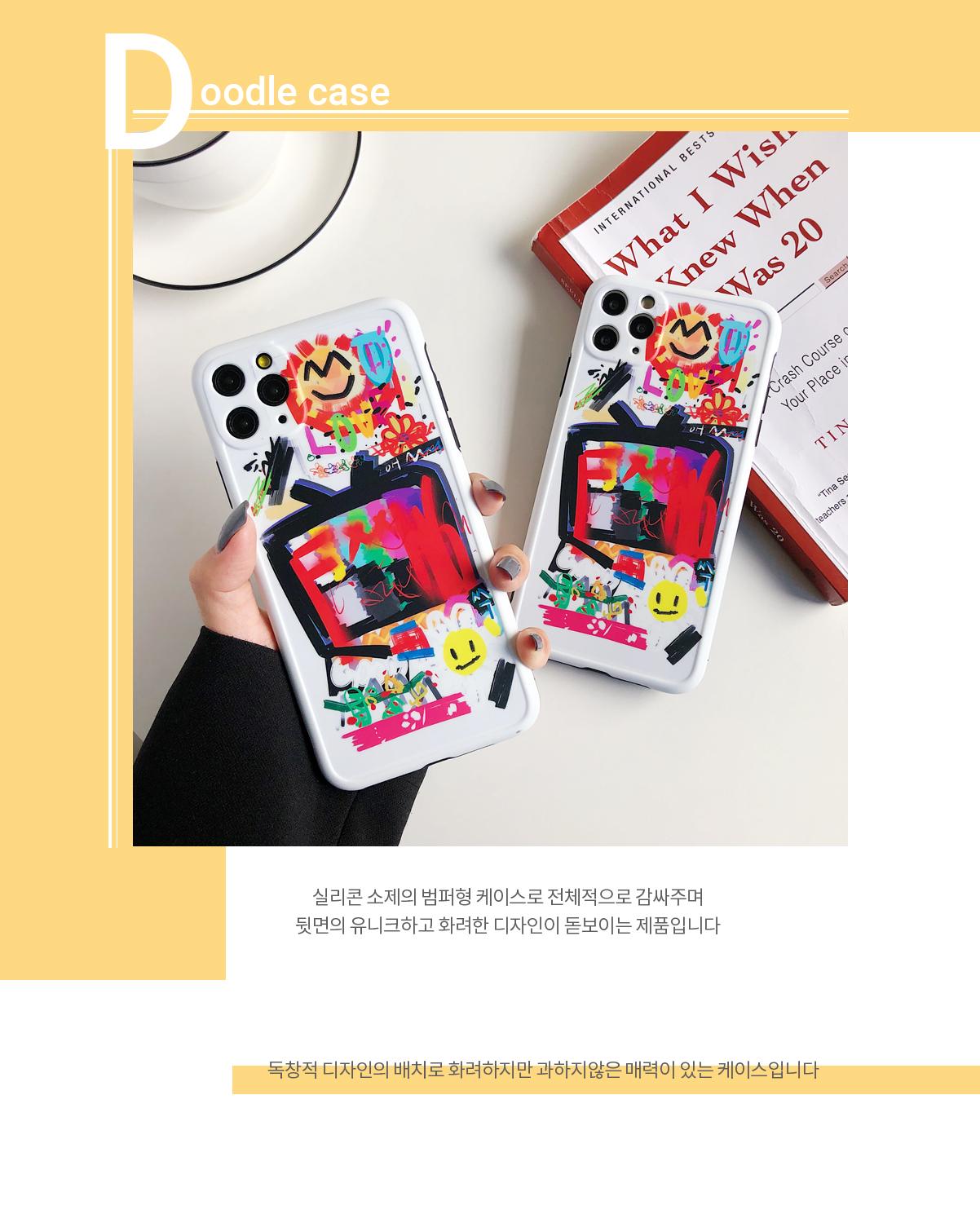 Tongkun Jungu iPhone 11 Pro Max iPhone XS iPhone XR iPhone 8 Graffiti Case
