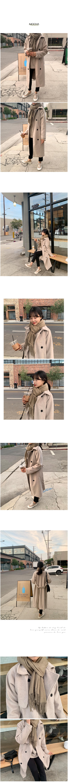 Sky cashmere scarf A#M013