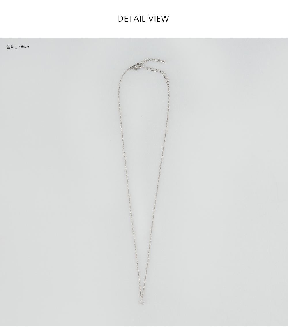 minimal cubic pendant necklace