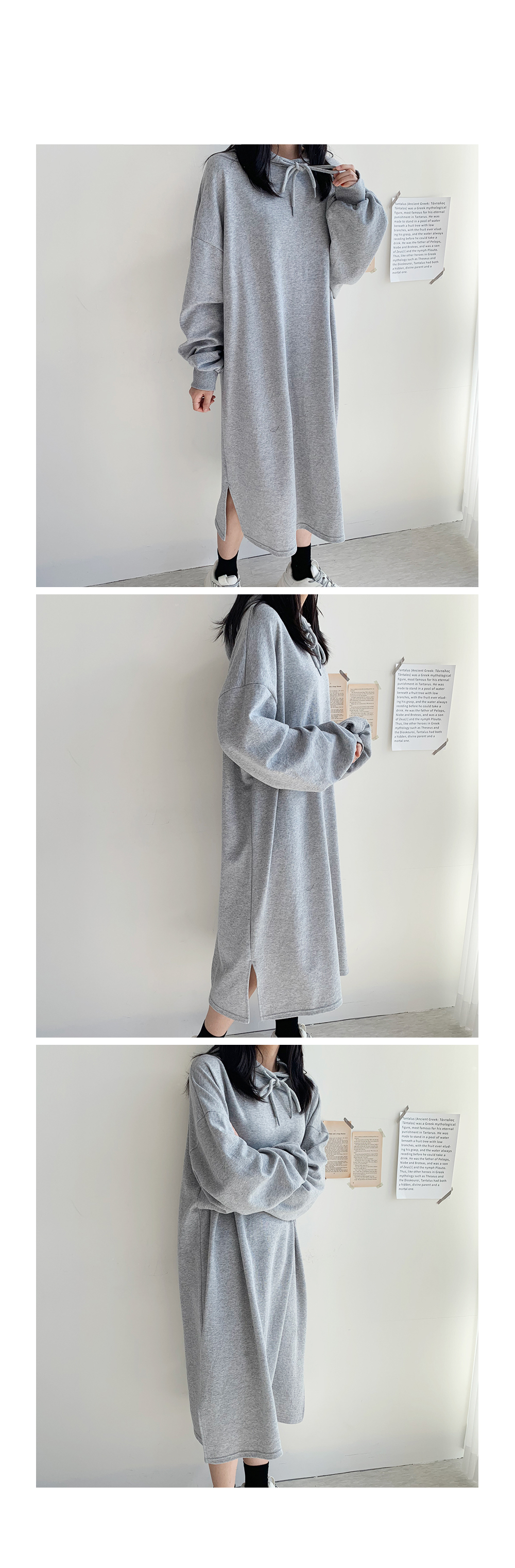 Long Hooded Im Dress