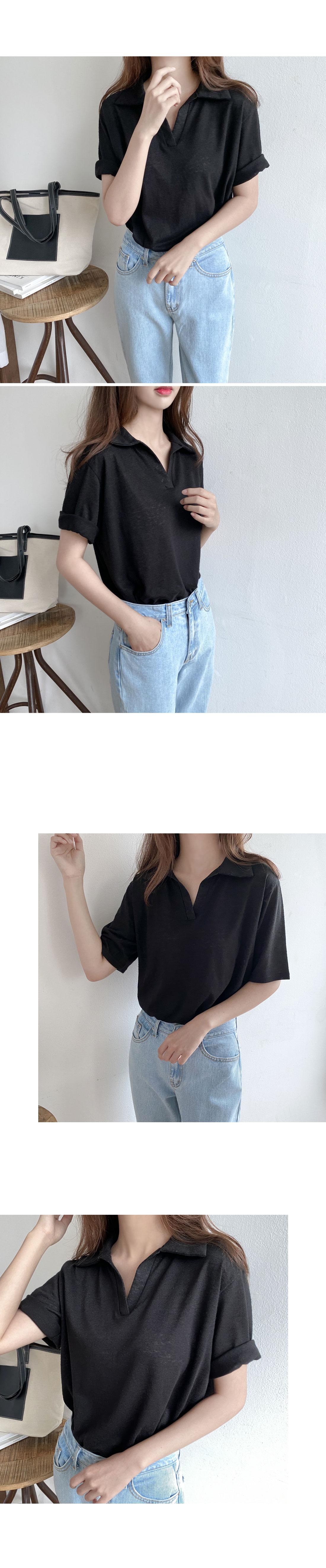 Jackie linen color shirt