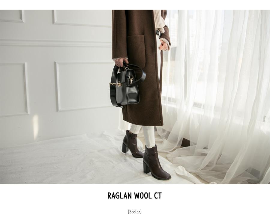 raglan wool CT -2colors