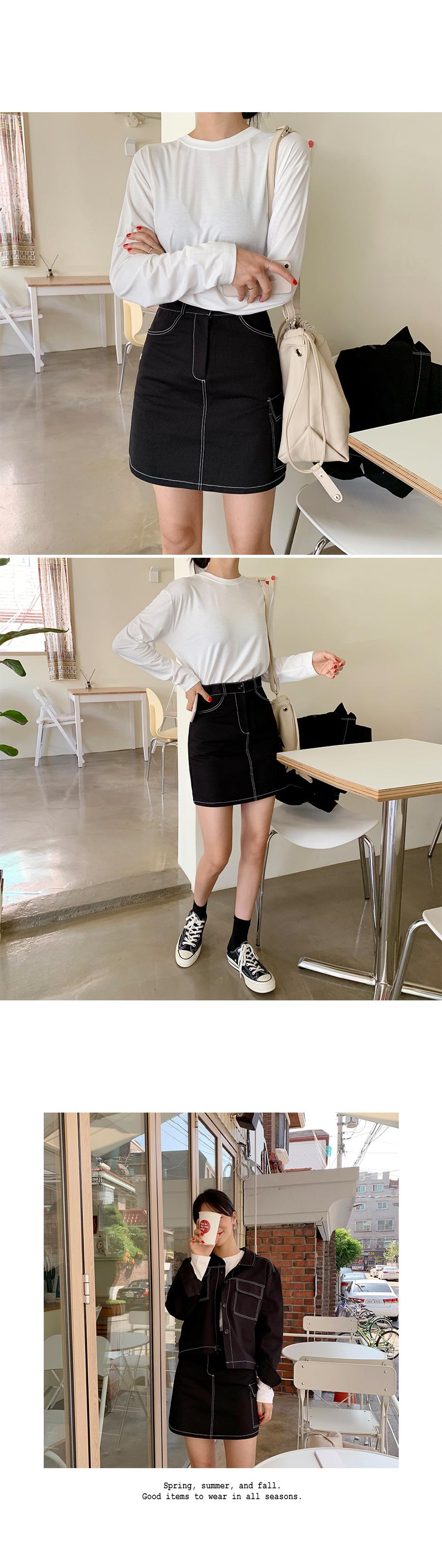 Oli stitch skirt