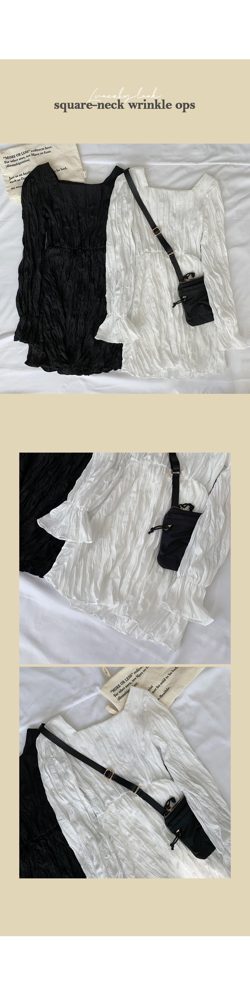 Angel Square Wrinkle Dress
