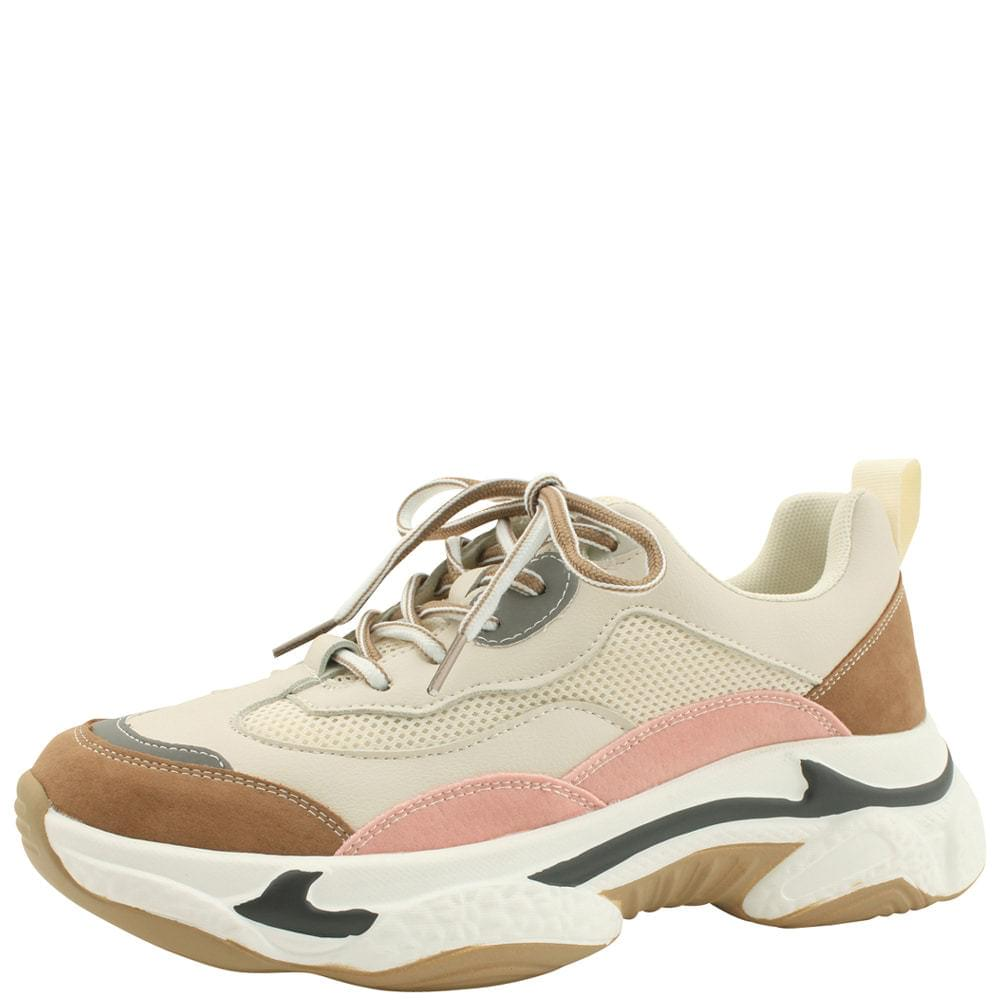 Mash Suede Ugly Sneakers Pink