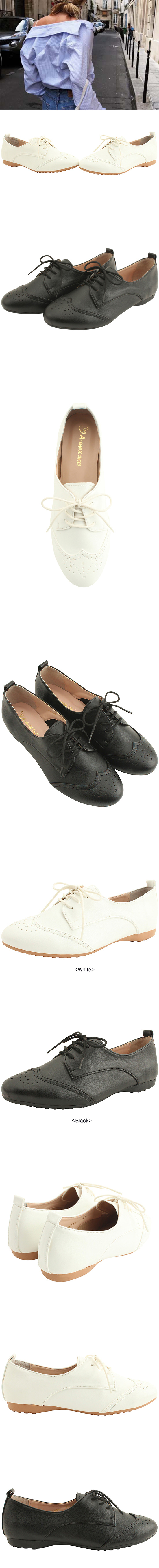 Oxford Simple Loafer Shoes Black
