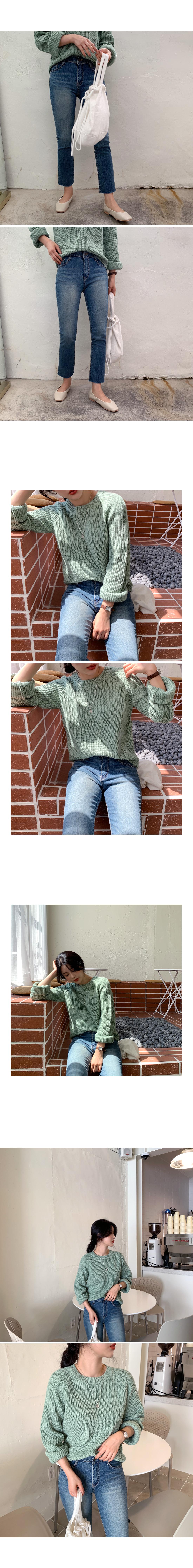 Happy Hotch Round Knit