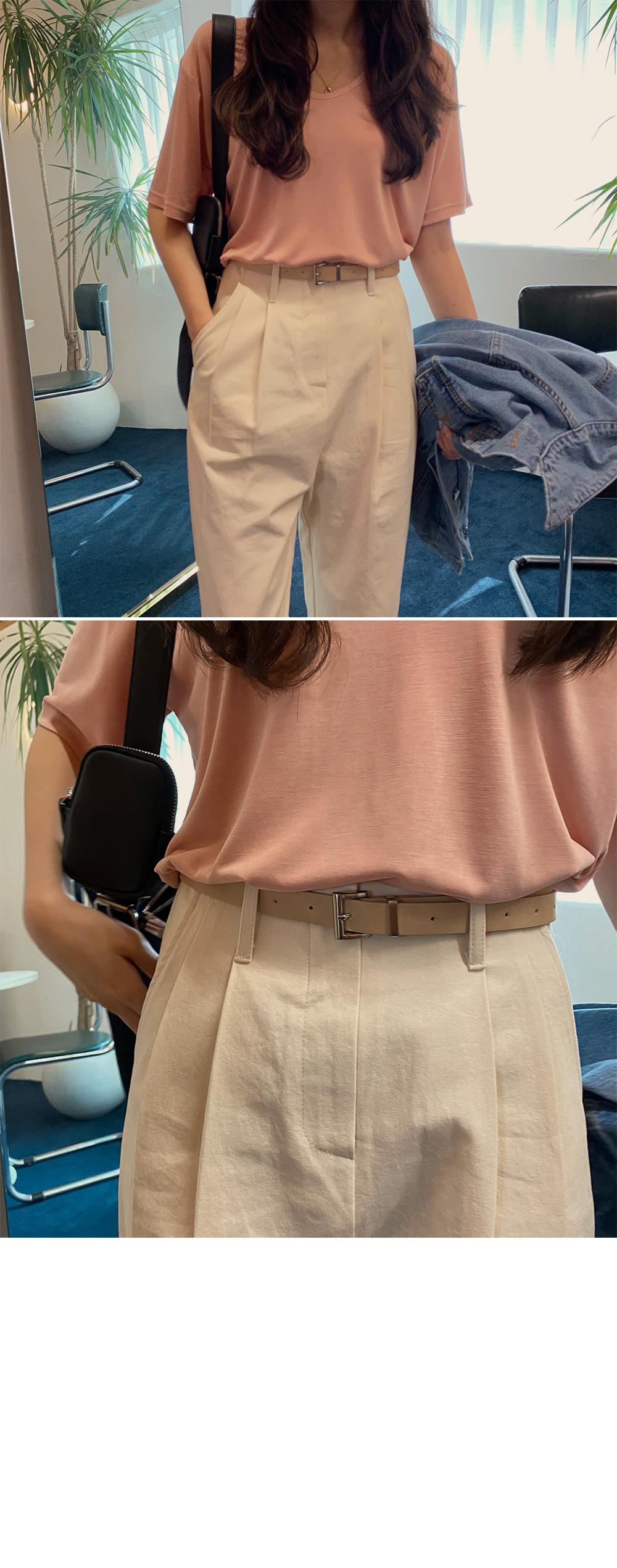 V rayon t-shirt