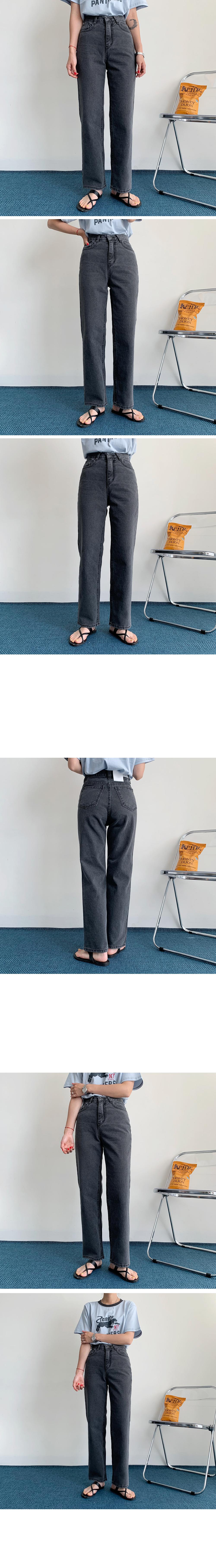 Leeds Black Blue Denim Pants