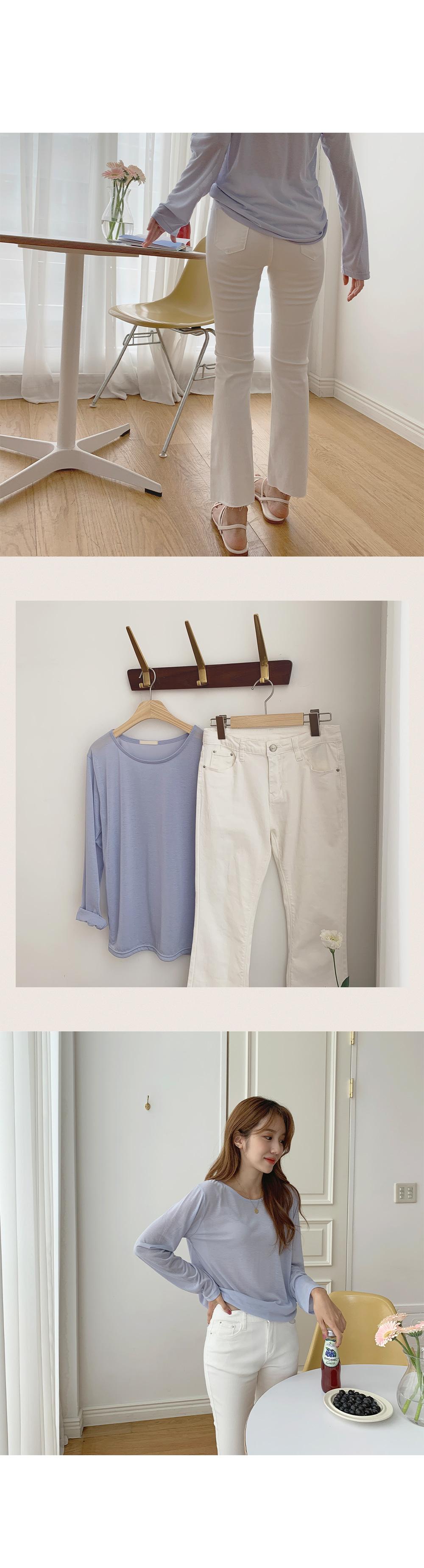 Rose Ang Round Neck Long Sleeve T-Shirt