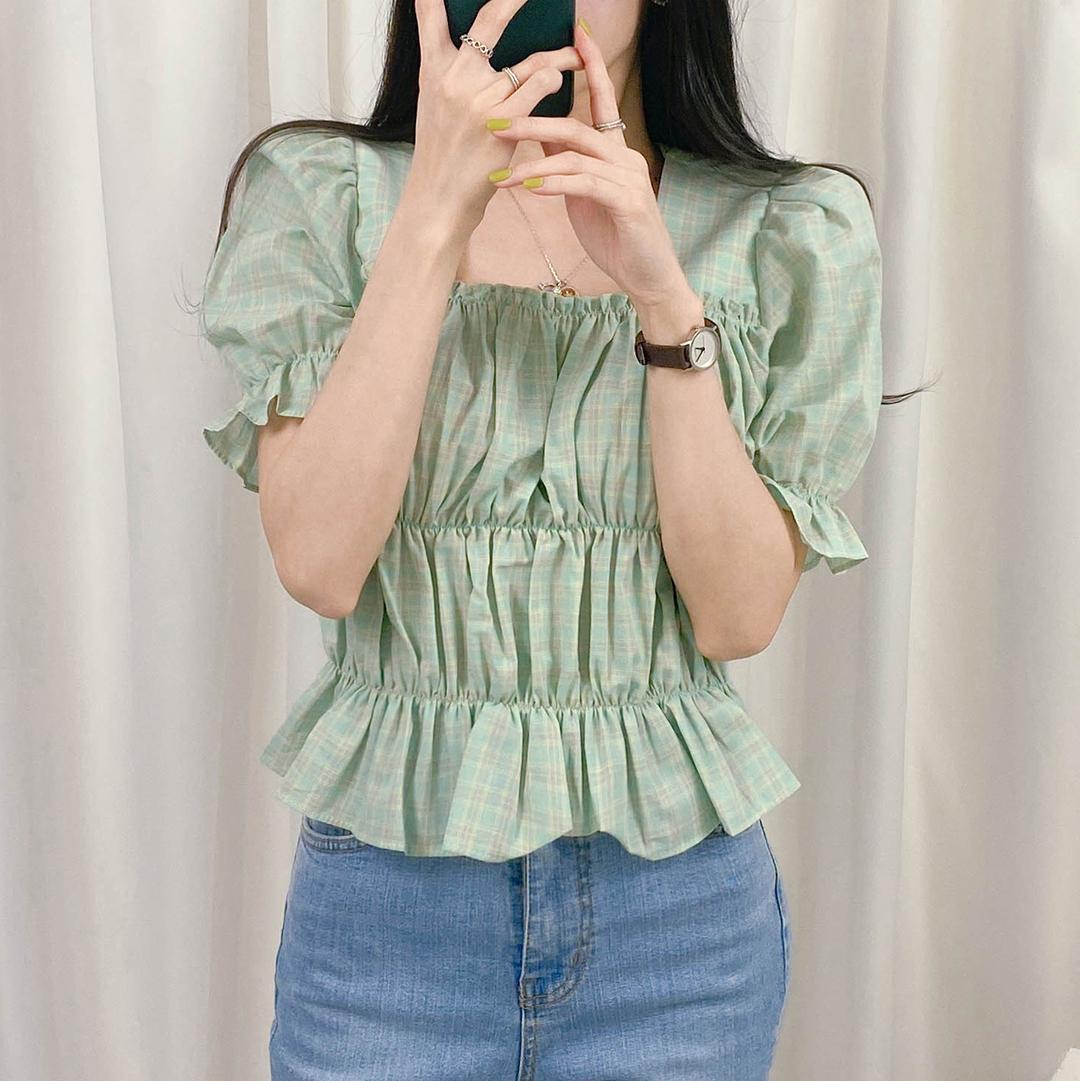 Cotton candy blouse