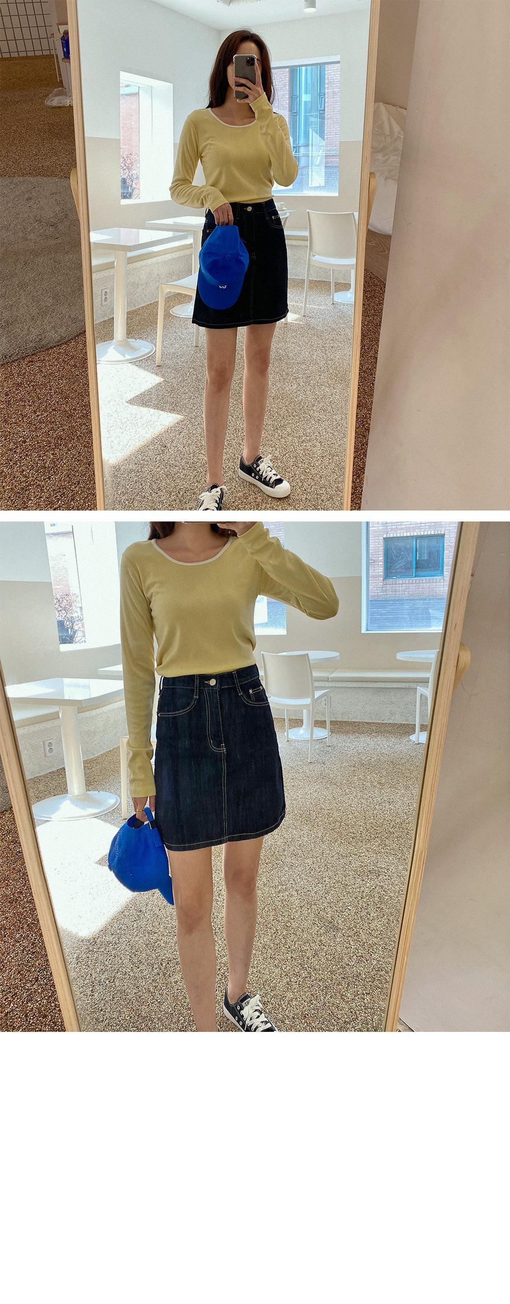 Dough mini skirt