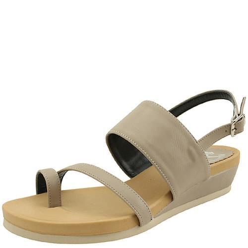 Joori Slingback Flat Sandals Beige
