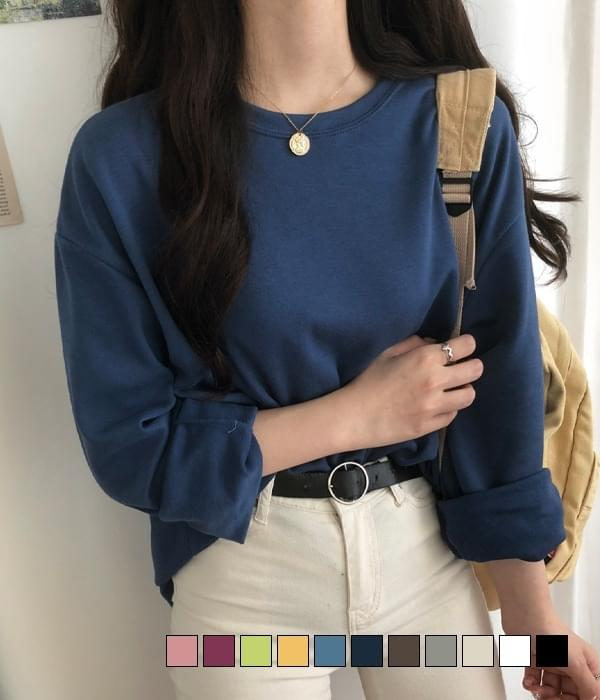 11 Colors Special Cotton Long-sleeved T-shirt