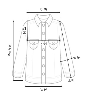 Dory one-button shirt