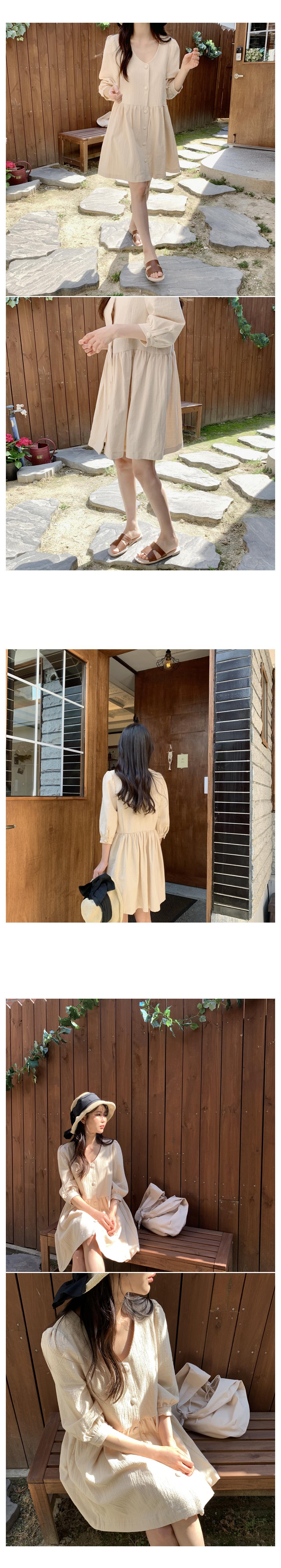 Minute Cotton Mini Dress