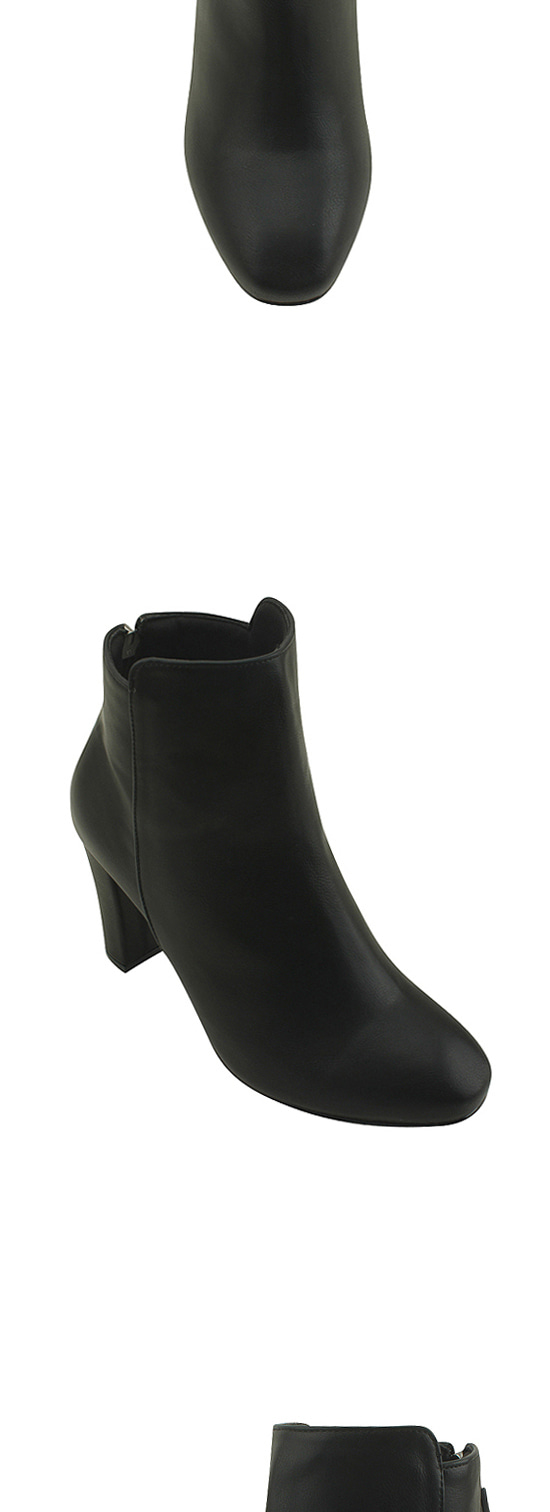 Minimal ankle boots high heels