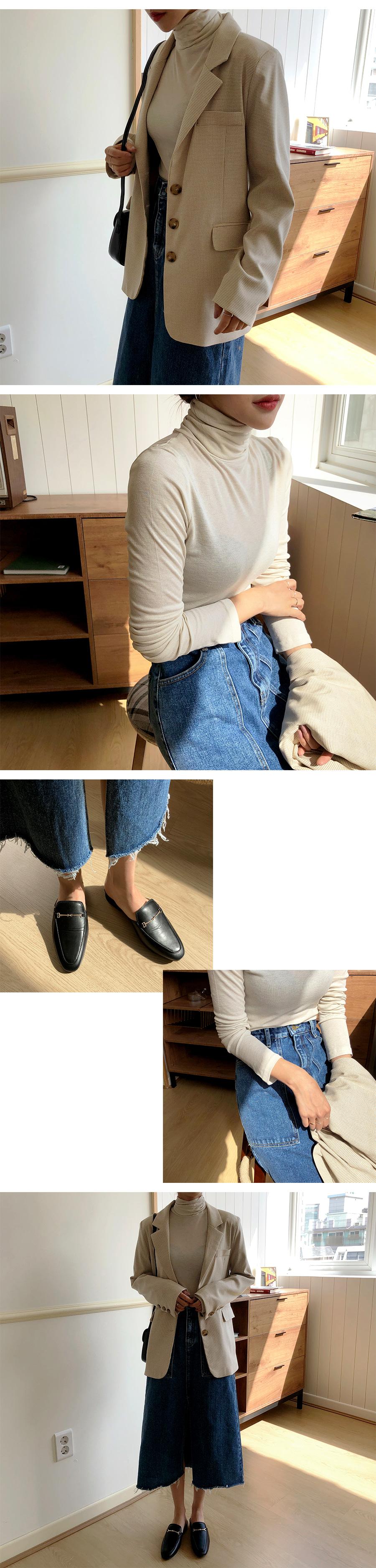 Lunch pocket long skirt